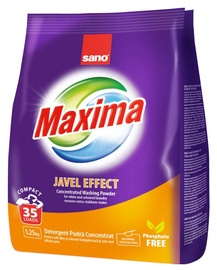 Pesupulber Sano Maxima Javel Effect Concentrated, 1.25 kg
