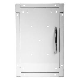 Europlast Access Panel 200x250mm Steel White