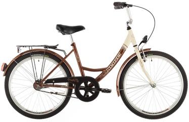 "Jalgratas Kenzel Monika, pruun, 17"", 26"""