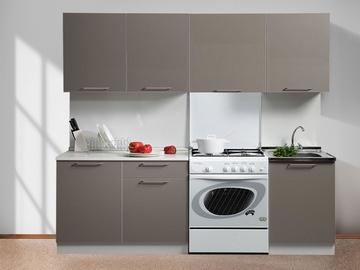 Köögikomplekt MN Simpl Cappucino, 2.1 m