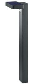 Trio Светильник Esquel антрацитовый столб / светодиодный, высотой 60 см, IP44, 4,5 Вт, 290 лм, 3000 К с солнечными элементами и датчиком движения
