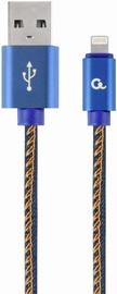 Gembird USB To Lightning Premium Denim Blue 2m