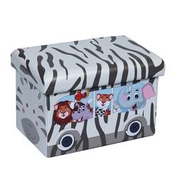Пуф XYZ160117BE Zebra, 48 x 32 x 31.5 см