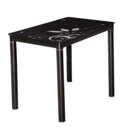 Обеденный стол Signal Meble Damar Black, 1000x600x750 мм