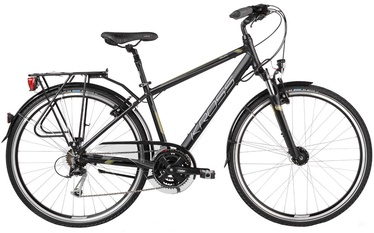 "Jalgratas Kross Trans Pacific M 28"" Black Khaki Matte 17"