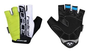 Force Radical Short Gloves Yellow/White/Black S