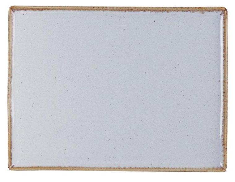 Porland Seasons Serving Plate 27.2x21cm Grey