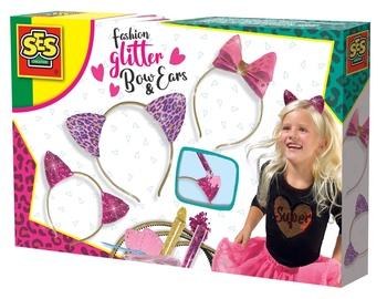 Laste peavõru SES Creative Fashion Glitter Bow And Ears 14141