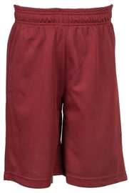 Bars Mens Basketball Shorts Red 166 XL