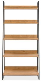 Home4you Indus Shelf 90x43xH190cm Oak/Grey