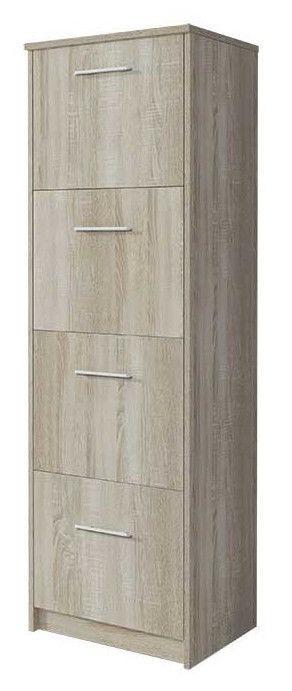 Idzczak Meble Shoe Cabinet 6 Sonoma Oak