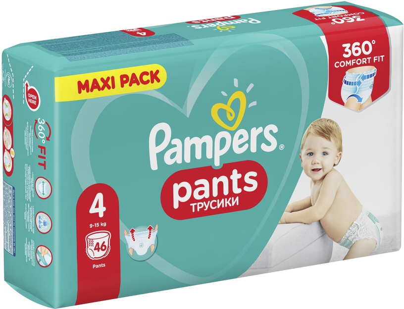 Mähkmed Pampers Pants, 4, 46 tk