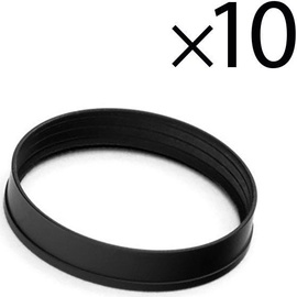 EK Water Blocks EK-Torque STC 16/12 Color Rings Pack Black 10pcs
