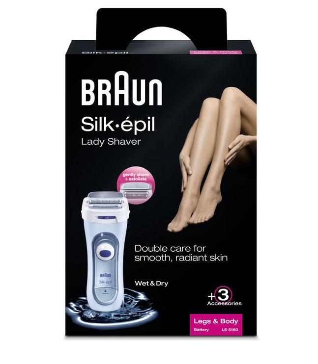 Braun Silk Epil Lady Shaver Wet & Dry 5160