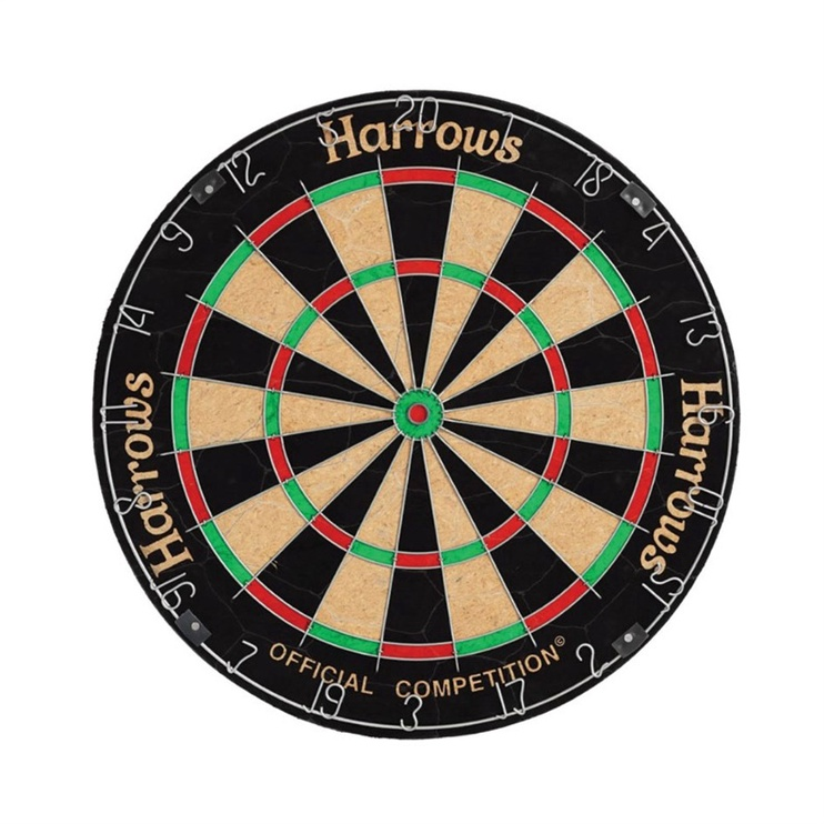 Harrows Official Competition Bristle Dartsboard
