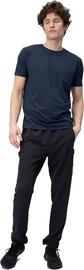 Audimas Light Stretch Fabric Pants Black 176/XXL