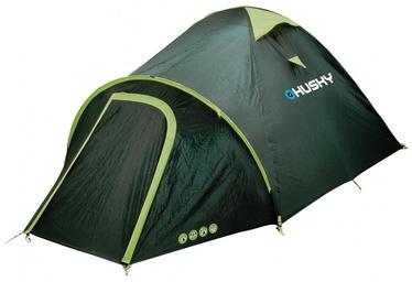 Neljakohaline telk Husky Bizon 4 1H0-7253, sinine/roheline