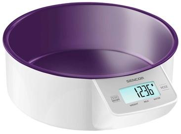 Elektrooniline köögikaal Sencor SKS 4004VT, valge