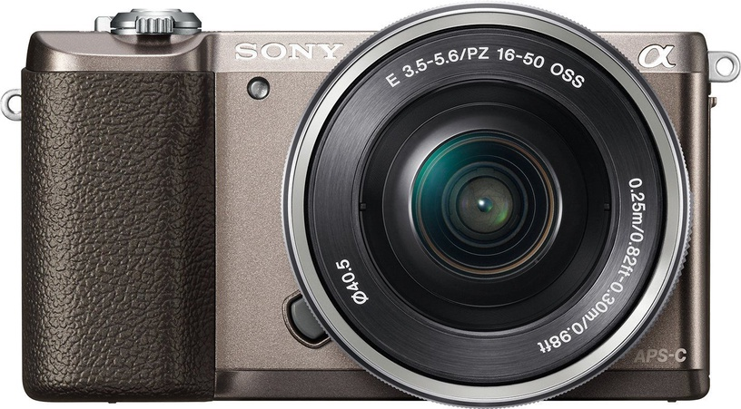 Sony Alpha A5100 Brown + 16-50mm