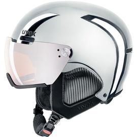 Uvex Ski Helmet 500 Visor Chrome LTD Silver Chrome 55-59