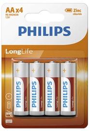 Philips R6L4B LongLife Batteries AA x4