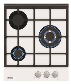 Газовая плита Simfer H4.305.HGSBB White