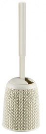 Curver Toilet Brush With The Holder Knit White