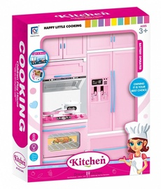 Askato Happy Little Cooking Dream Kitchen With Fridge And Oven 106359