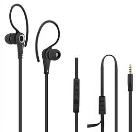 Kõrvaklapid Qoltec Premium Sport Black