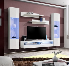 ASM Fly O13 Living Room Wall Unit Set White