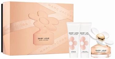 Набор для женщин Marc Jacobs Daisy Love 50 ml EDT + 75 ml Body Lotion + 75 ml Shower Gel