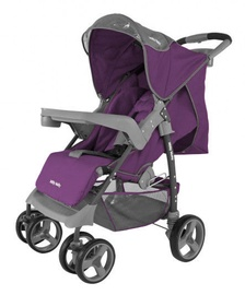 Jalutuskäru Milly Mally VIP 0195, hall/violetne