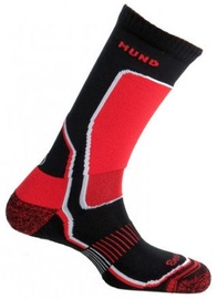 Mund Socks Nordic Skating/Indoor Hockey Black/Red XL