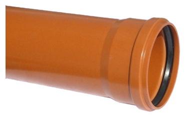 Wavin Sewer Pipe Brown 110mm 2m