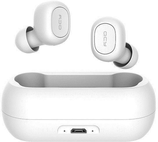 QCY T1 Bluetooth Wireless In-Ear Earphones White