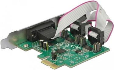 Delock PCIe 2 x Serial RS-232 921k