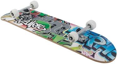No Rules Graffiti Skateboard