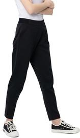 Audimas Womens Cotton Sweatpants Black 168/M
