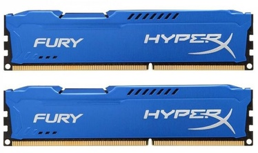Kingston 8GB DDR3 PC10600 CL9 DIMM HyperX Fury Blue KIT OF 2 HX313C9FK2/8