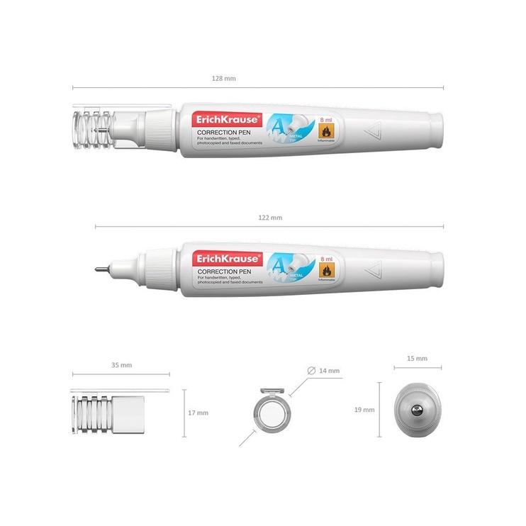 ErichKrause Correction Pen 8ml