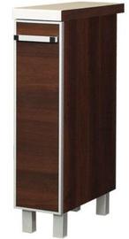 Нижний кухонный шкаф Bodzio Cargo Ola 20 Walnut, 200x520x860 мм