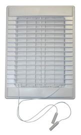 Ventilatsioonirest Plaskanta, 255x190 mm, suletav