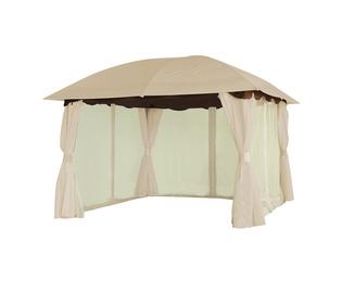 Domoletti Ruby Garden Shelter 3x3x2.7m Brown