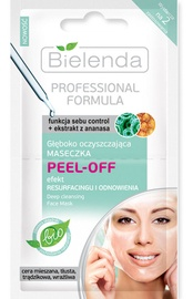Bielenda Deep-Cleansing Peel-Off Mask 2 x 5g