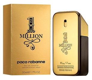 Parfüümid Paco Rabanne 1 Million 50ml EDT