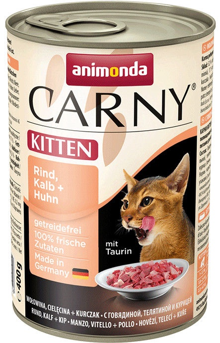 Animonda Carny Kitten Chicken & Calf 400g
