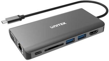 Unitek D1019A O8+ 8-in-1 USB-C Hub