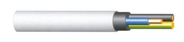 KAABEL KH05VV-U 3X2,5 VALGE (50)