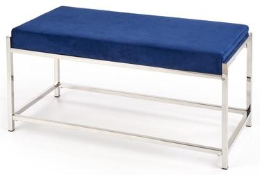 Tumba Halmar Mokka Dark Blue/Silver, 97x44x46 cm