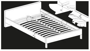 Кровать Halmar Percy, 160 x 200 cm
